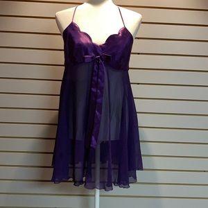 Vintage Victoria Secret's Purple Chemise SZ M
